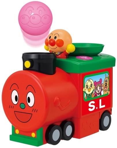 【中古】おもちゃ ボールがとびだす! はしるよポンポンSLマン 「それいけ!アンパンマン」