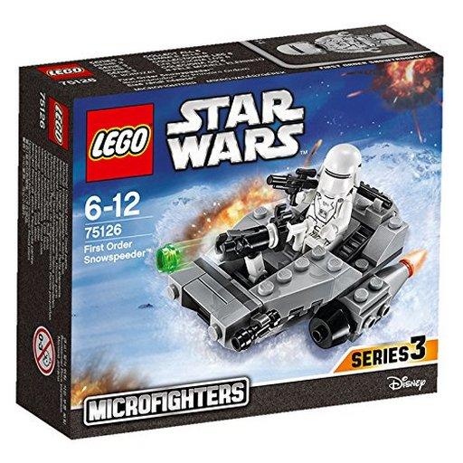 """【中古】おもちゃ LEGO マイクロファイター""""ファースト・オーダー スノースピーダー"""" 「レゴ スター・ウォーズ」 75126"""