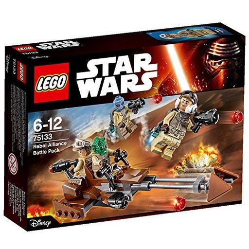 """【新品】おもちゃ LEGO バトルパック""""反乱者たち"""" 「レゴ スター・ウォーズ」 75133"""