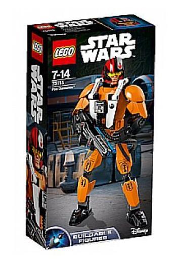 【中古】おもちゃ LEGO ポー・ダメロン 「レゴ スター・ウォーズ」 75115
