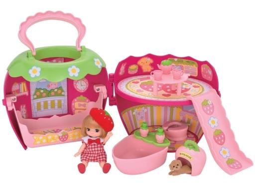 【中古】おもちゃ 3才のリカちゃんといちごのおへや 「リカちゃん」