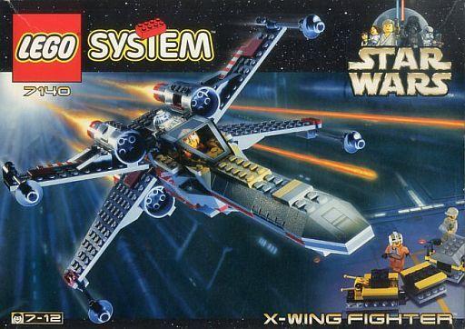 【中古】おもちゃ LEGO レゴ Xウィング・ファイター 「レゴ システム スター・ウォーズ」 7140