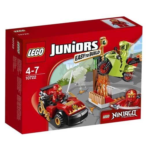 【中古】おもちゃ LEGO ニンジャゴーカート vs ヘビヘビバイク 「レゴ ジュニア」 10722