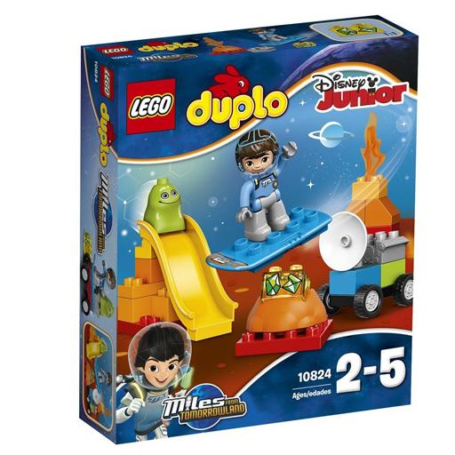 """【新品】おもちゃ LEGO マイルズのトゥモローランドだいさくせん """"うちゅうのぼうけん"""" 「レゴ デュプロ」 10824"""