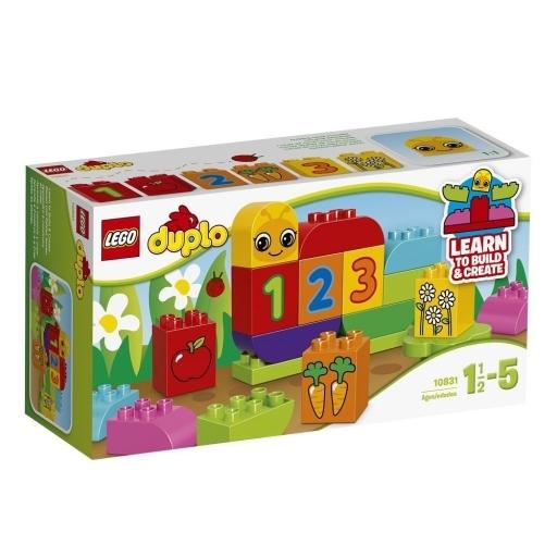 【新品】おもちゃ LEGO はじめてのデュプロ あおむし 「レゴ デュプロ」 10831