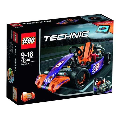 【中古】おもちゃ LEGO レースカート 「レゴ テクニック」 42048