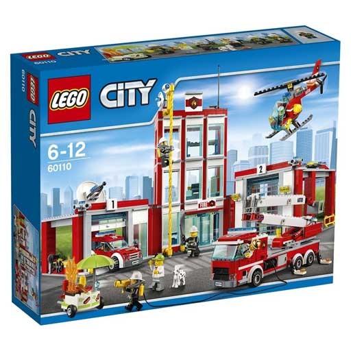 【中古】おもちゃ LEGO 消防署 「レゴ シティ」 60110