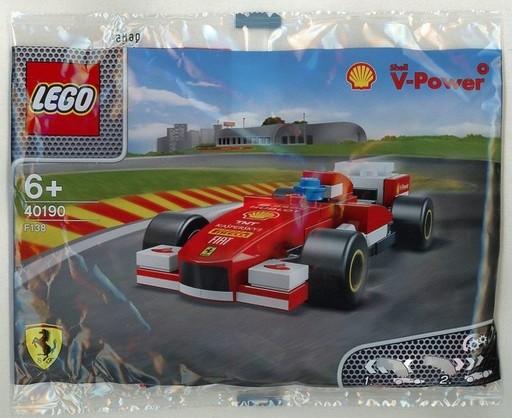 【中古】おもちゃ LEGO フェラーリ F138 「レゴ」 40190 昭和シェル石油限定品
