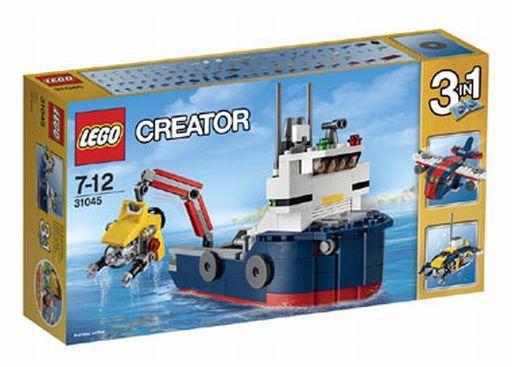 【中古】おもちゃ LEGO 海洋調査船 「レゴ クリエイター」 31045