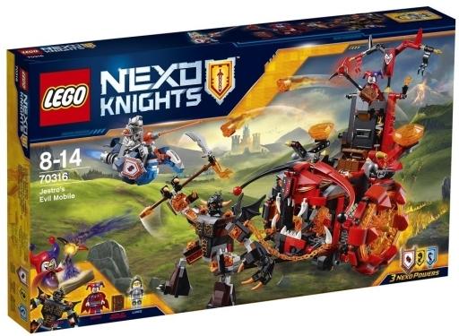 【中古】おもちゃ LEGO ジェストロのマグマ戦車 「レゴ ネックスナイツ」 70316