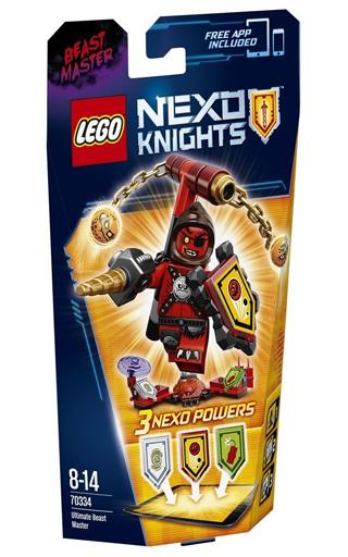【中古】おもちゃ LEGO シールドセット ビーストマスター 「レゴ ネックスナイツ」 70334