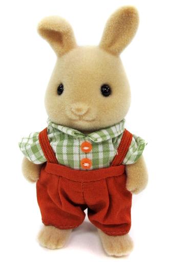 【中古】おもちゃ アイボリーウサギのお父さん 「シルバニアファミリー」