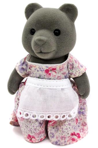 【中古】おもちゃ クマのお母さん(グレータイプ) 「シルバニアファミリー」