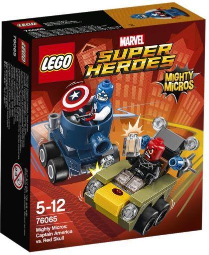 【中古】おもちゃ LEGO マイティマイクロ:キャプテン・アメリカ VS レッド・スカル 「レゴ MARVEL スーパーヒーローズ」 76065