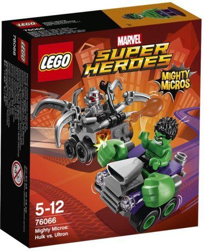 【中古】おもちゃ LEGO マイティマイクロ:ハルク VS ウルトロン 「レゴ MARVEL スーパーヒーローズ」 76066