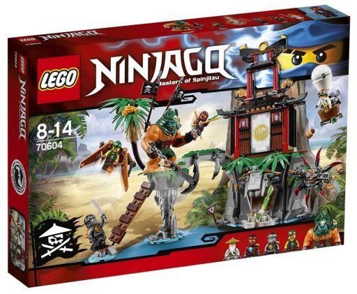 【中古】おもちゃ LEGO 離れ小島 ティガー島 「レゴ ニンジャゴー」 70604