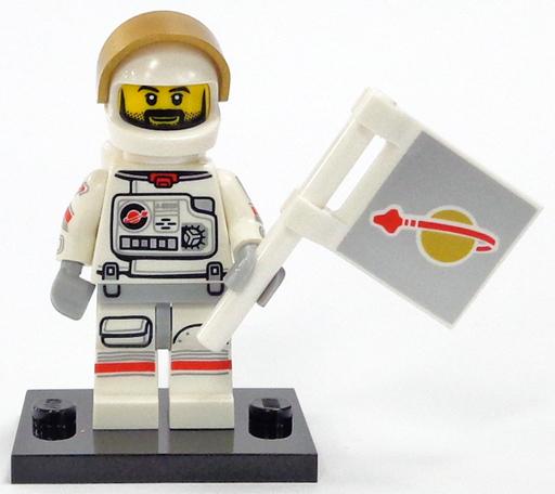 【中古】おもちゃ 宇宙飛行士 「LEGO レゴ ミニフィギュア シリーズ15」 71011