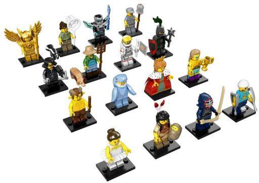 【中古】おもちゃ 全16種セット 「LEGO レゴ ミニフィギュア シリーズ15」 71011