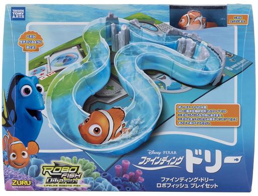 【中古】おもちゃ ロボフィッシュ プレイセット 「ファインディングドリー」