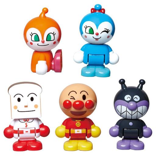 【新品】おもちゃ アンパンマンタウン みんなであそぼう!なかまたちドールセット 「それいけ!アンパンマン」