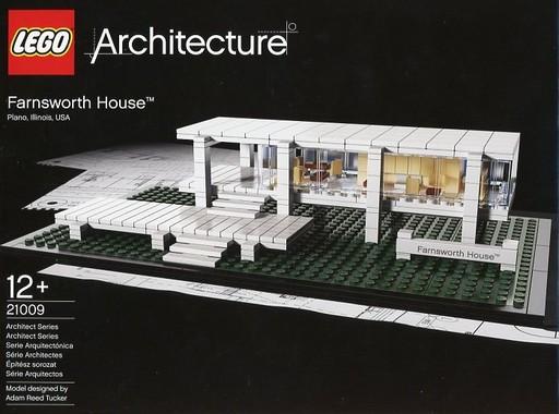 【中古】おもちゃ LEGO ファンズワース邸 「レゴ アーキテクチャー」 21009