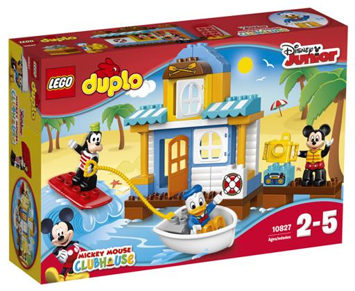 【中古】おもちゃ LEGO ミッキー&フレンズのビーチハウス 「レゴ デュプロ」 10827