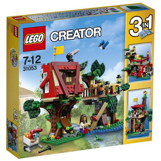 【新品】おもちゃ LEGO ツリーハウスアドベンチャー 「レゴ クリエイター」 31053