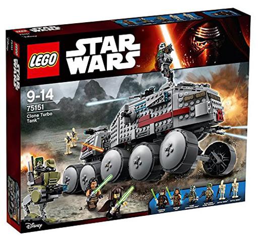 【中古】おもちゃ LEGO クローン・ターボ・タンク 「レゴ スター・ウォーズ」 75151