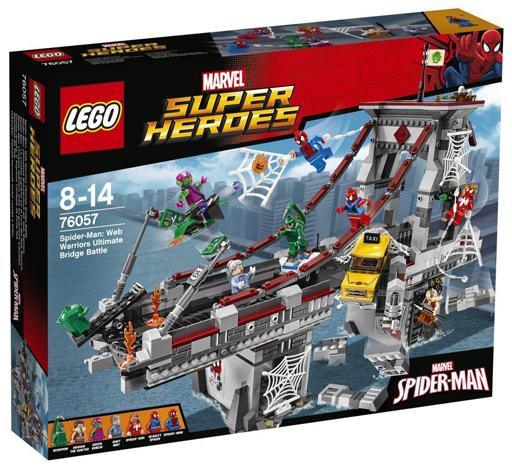 【中古】おもちゃ LEGO スパイダーマン: ウェブ・ウォーリアーズ 橋の上の大決戦 「レゴ スーパー・ヒーローズ」 76057