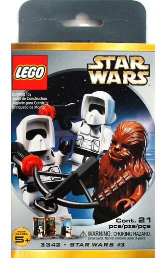 【中古】おもちゃ LEGO チューバッカ&スカウト・トルーパー ミニフィグパック 「レゴ スター・ウォーズ」 3342