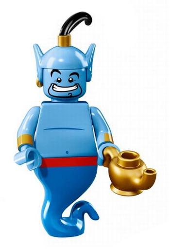 【中古】おもちゃ ジーニー 「LEGO レゴ ミニフィギュア ディズニーシリーズ」 71012