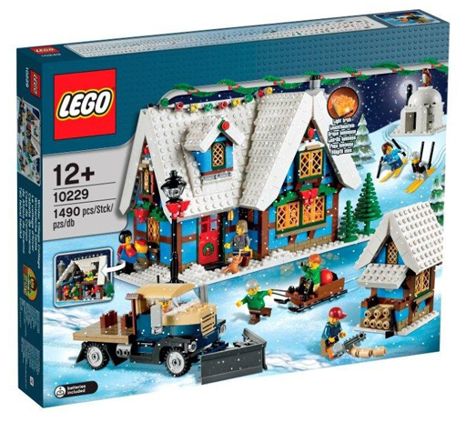 【中古】おもちゃ LEGO ウィンターコテージ 「レゴ クリエイター」 10229