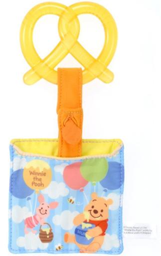 【中古】おもちゃ Dear Little Hands にぎりやすい歯固め キャンディプレッツェル くまのプーさん