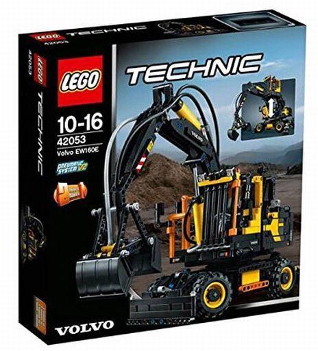 【中古】おもちゃ LEGO Volvo EW160E 「レゴ テクニック」 42053
