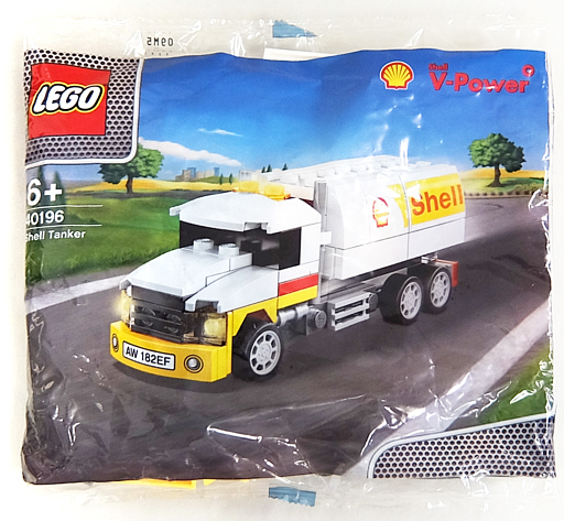 【中古】おもちゃ LEGO シェルタンカー 「レゴ」 40196 昭和シェル石油限定品