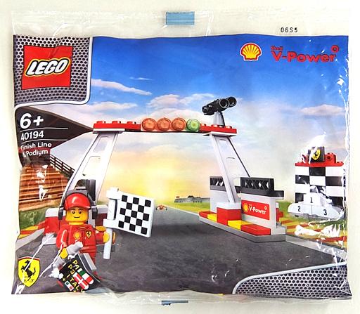【中古】おもちゃ LEGO ゴール&表彰台 「レゴ」 40194 昭和シェル石油限定品