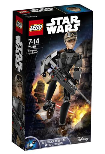 【中古】おもちゃ LEGO ジン・アーソ軍曹 「レゴ スター・ウォーズ」 75119