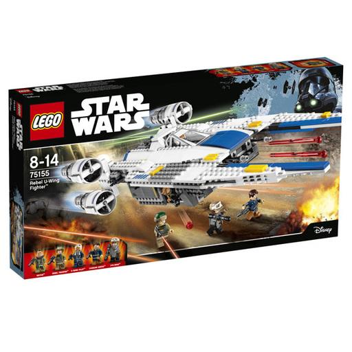 【中古】おもちゃ LEGO 反乱軍のUウィング・ファイター 「レゴ スター・ウォーズ」 75155