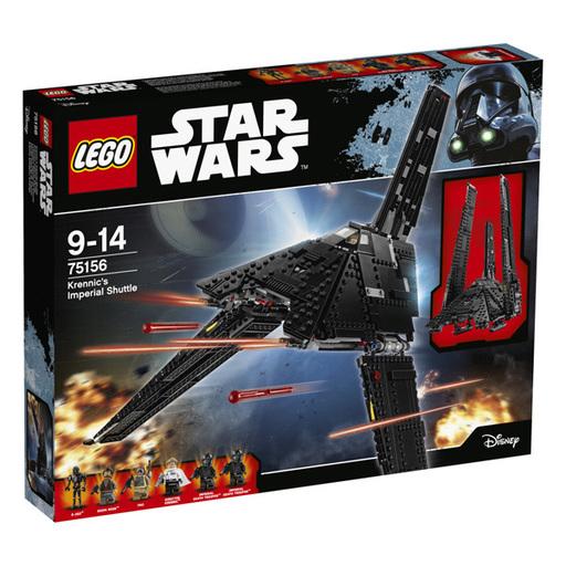 【新品】おもちゃ LEGO クレニックのインペリアル・シャトル 「レゴ スター・ウォーズ」 75156