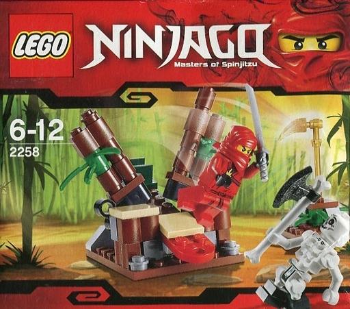 【中古】おもちゃ LEGO ニンジャ・アンブッシュ 「レゴ ニンジャゴー」 2258