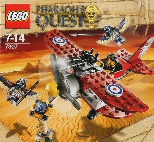【中古】おもちゃ LEGO フライング・マミー・アタック 「レゴ ファラオズ・クエスト」7303