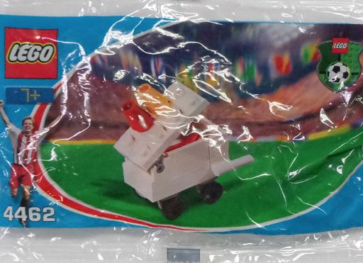 【中古】おもちゃ LEGO コカ・コーラ ホットドッグカート 「レゴ サッカー」 4462