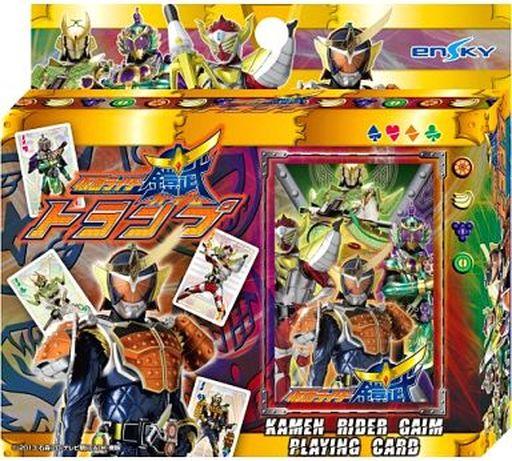 【中古】おもちゃ 仮面ライダー鎧武 トランプ