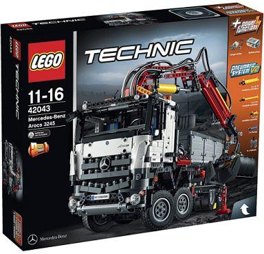 【中古】おもちゃ [ランクB] LEGO メルセデス・ベンツ アロクス 3245 「レゴ テクニック」 42043