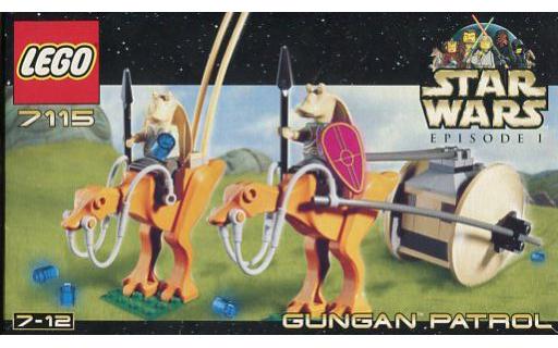 【中古】おもちゃ LEGO グンガン・パトロール 「レゴ スター・ウォーズ」 7115