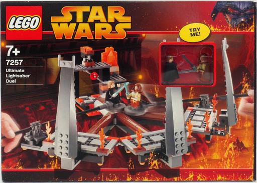 【中古】おもちゃ LEGO 最後のライトセーバーバトル 「レゴ スター・ウォーズ」 7257
