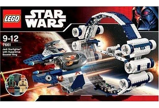 【中古】おもちゃ LEGO ジェダイ・スターファイター  「レゴ スター・ウォーズ」 7661