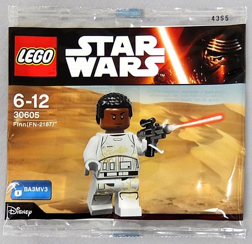 【中古】おもちゃ LEGO フィン ミニフィギュア 「ゲームソフト LEGO スター・ウォーズ/フォースの覚醒」 先着購入特典 30605