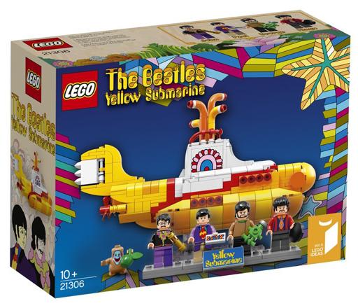 【中古】おもちゃ LEGO イエローサブマリン 「レゴ アイデア」 21306
