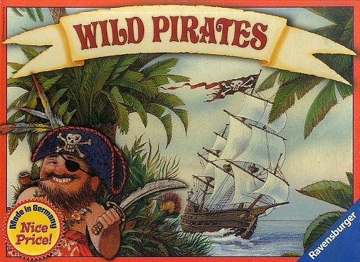 【中古】ボードゲーム ワイルドパイレーツ 多言語版 (Wild Pirates)